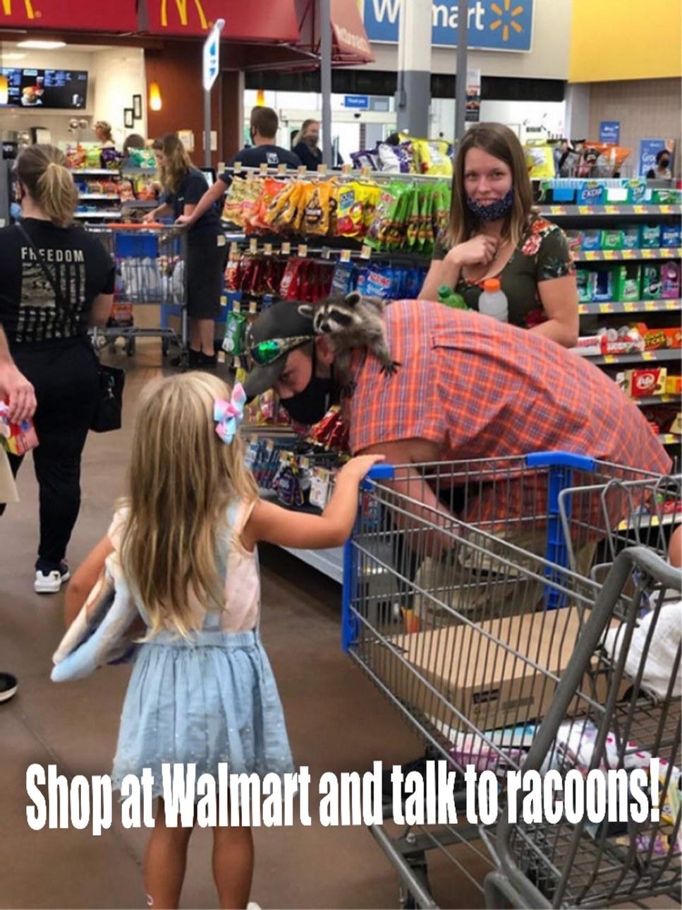 Meet the folks at Walmart - meme