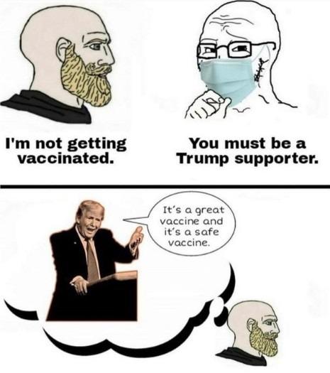 Politics, I know...but it's a fair point. - meme