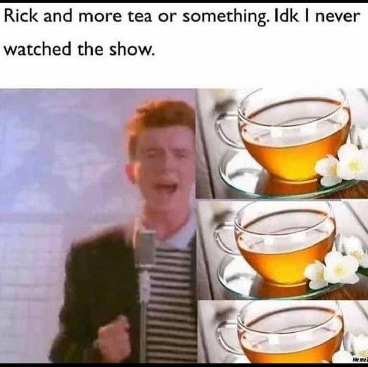 Ricks of morby - meme