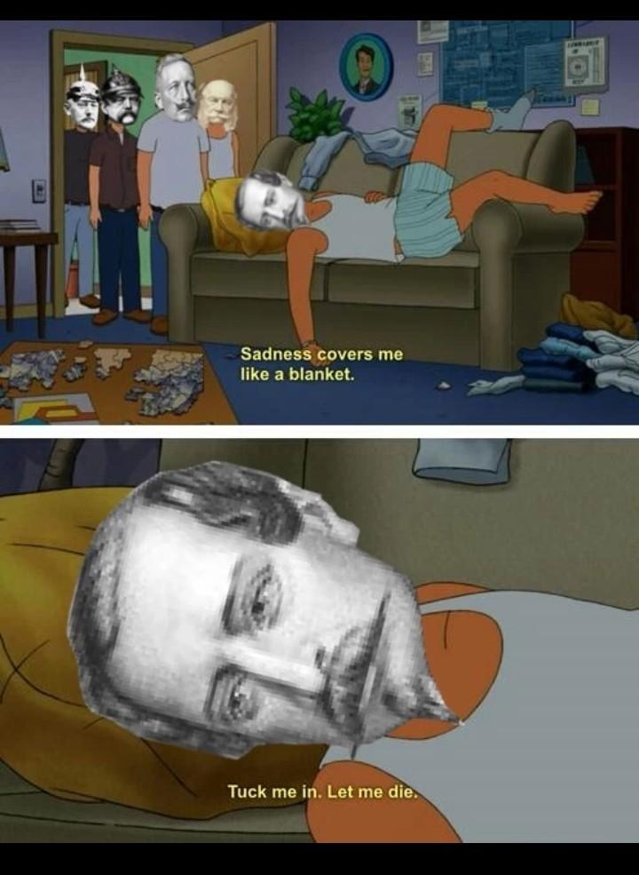 Poor Napoleon III - meme
