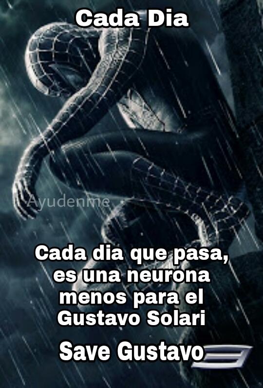 Ayuda, save Gustavo - meme