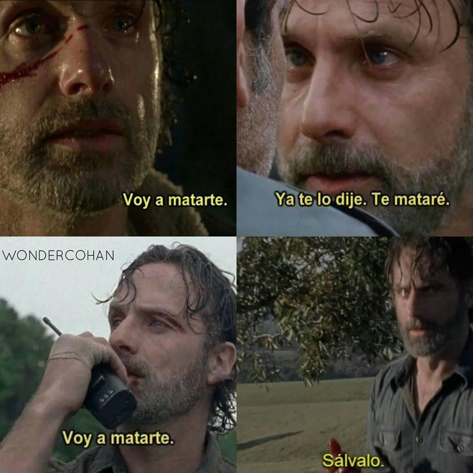 Bueno Rick, decídete de una vez - meme