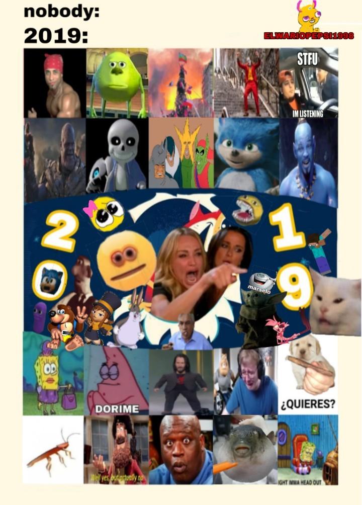 2019 - meme
