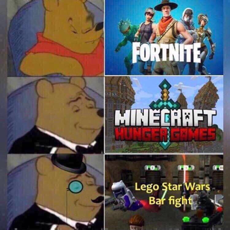 I play Hypixel - meme