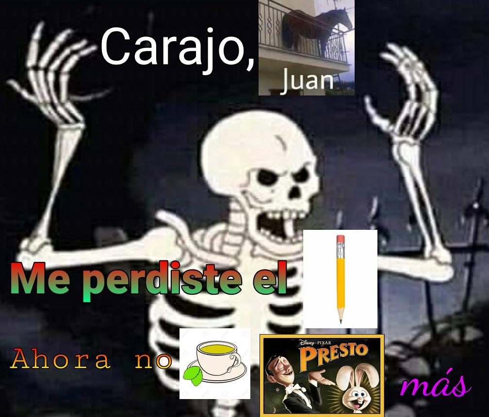CARAJO JUAN!!! - meme