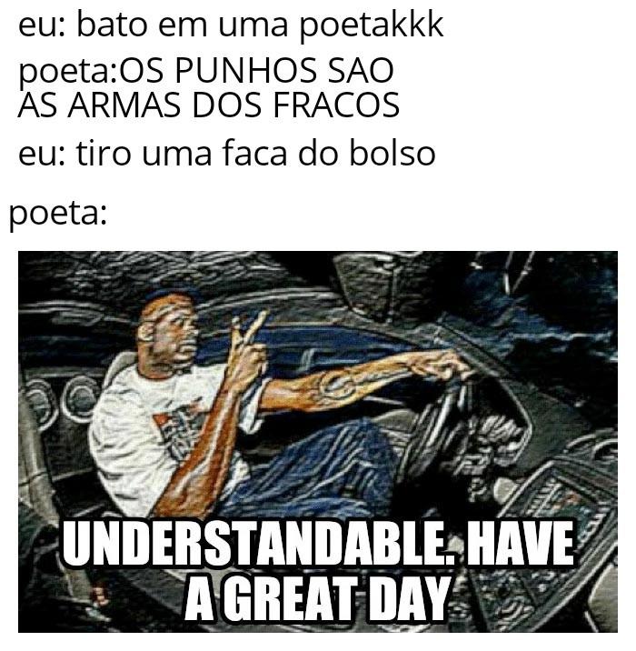 Bater poeta kkkkksequico - meme