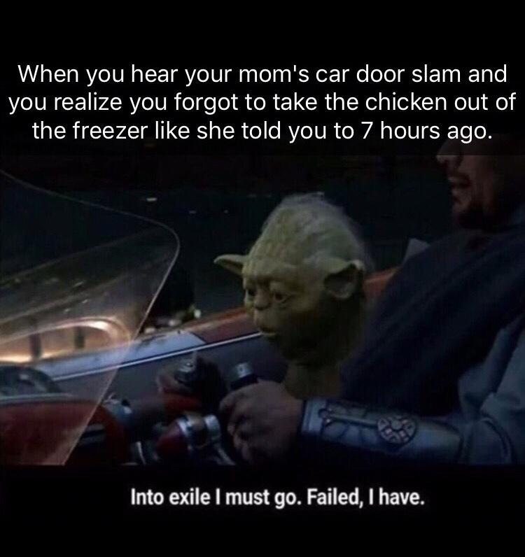Childhood flashback! - meme