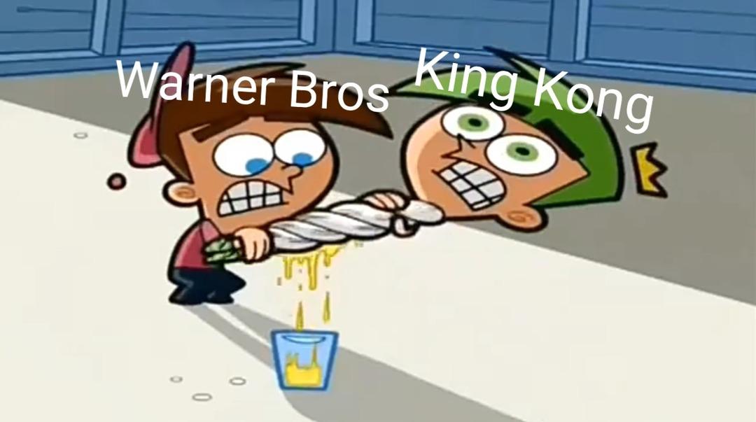 Contexto:Kong aparecerá en Space Jam ._.XD - meme