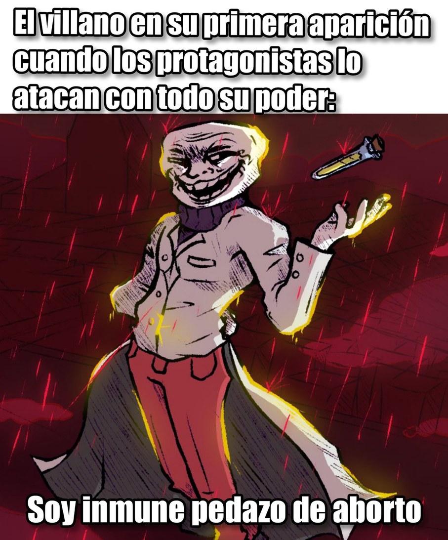 Es inmune - meme