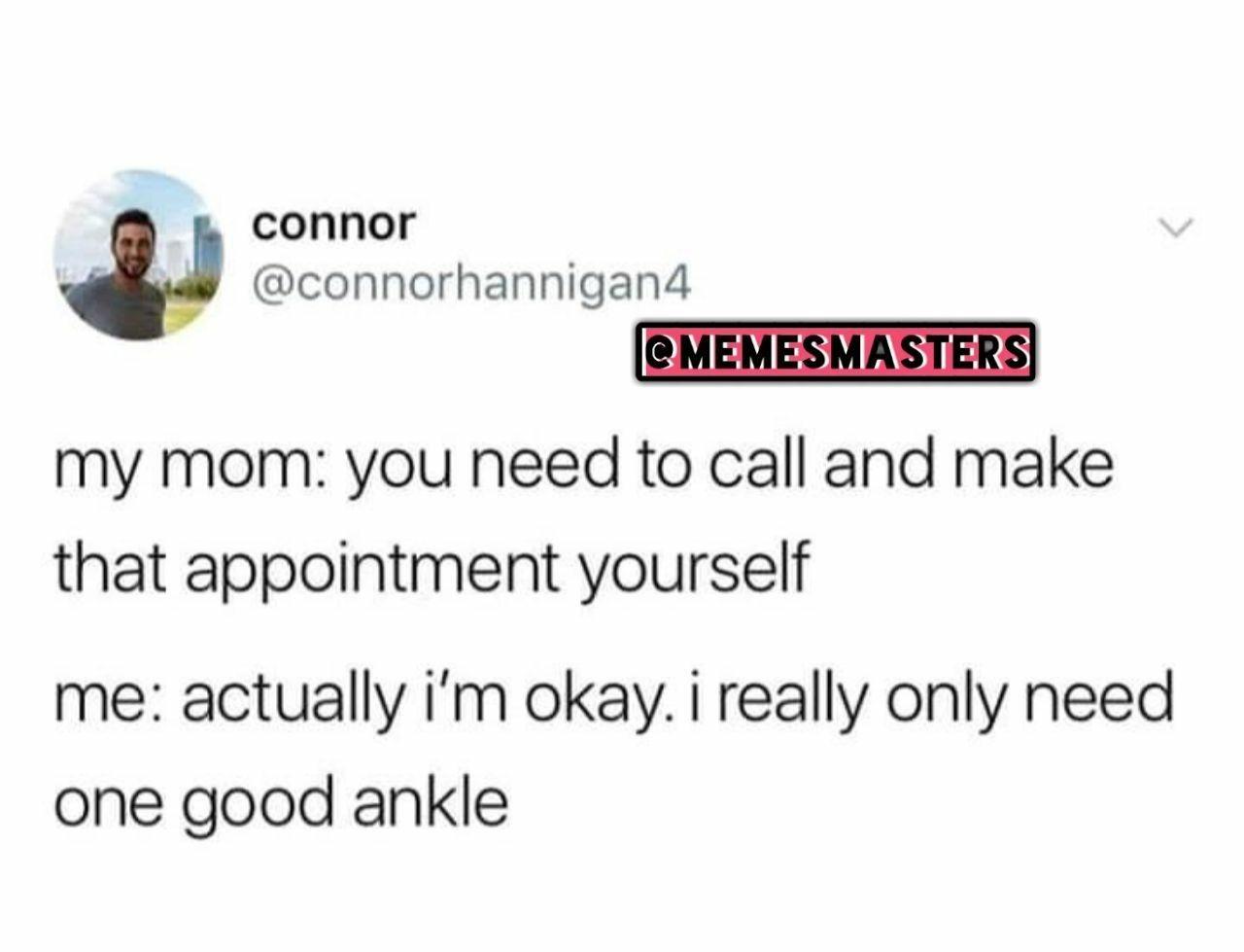 No hospital plz - meme