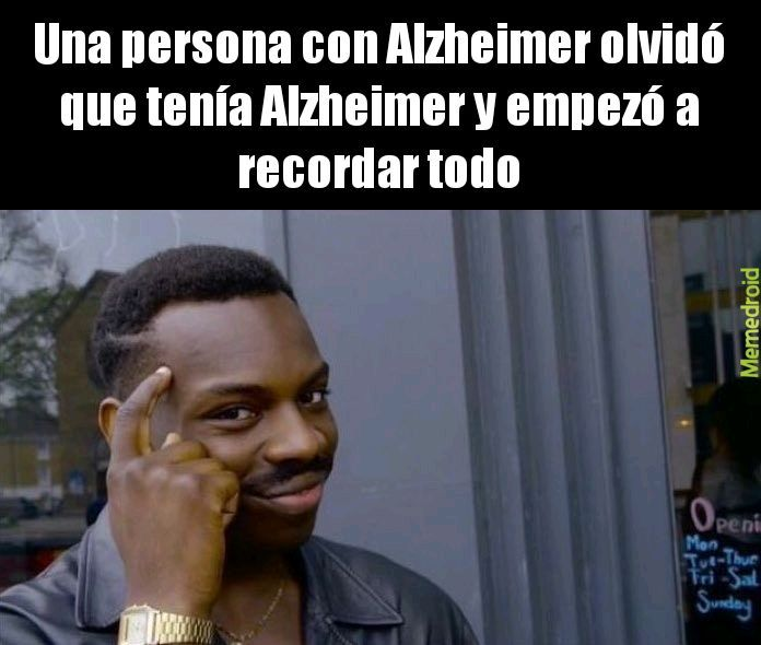 Alzheimer - meme