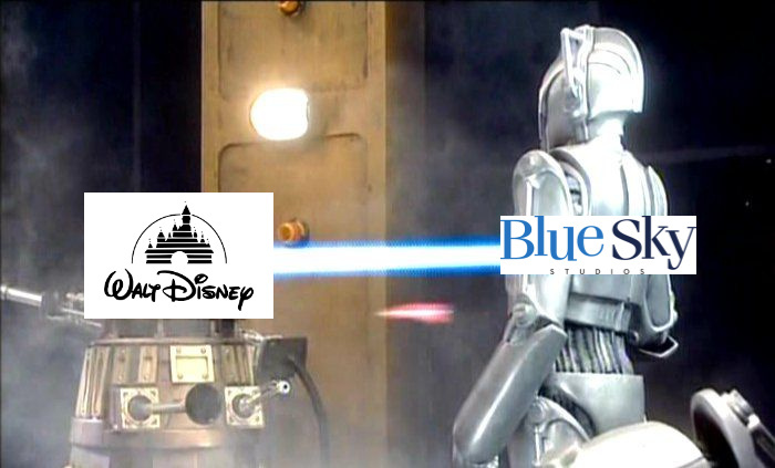 Contexto: Hace un mes Disney cerró Blue Sky Studios y despidió a 450 trabajadores - meme