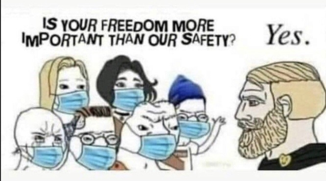 freedom is most important - meme
