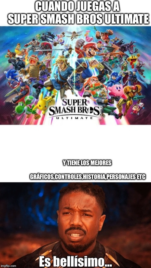 Super smash bros - meme