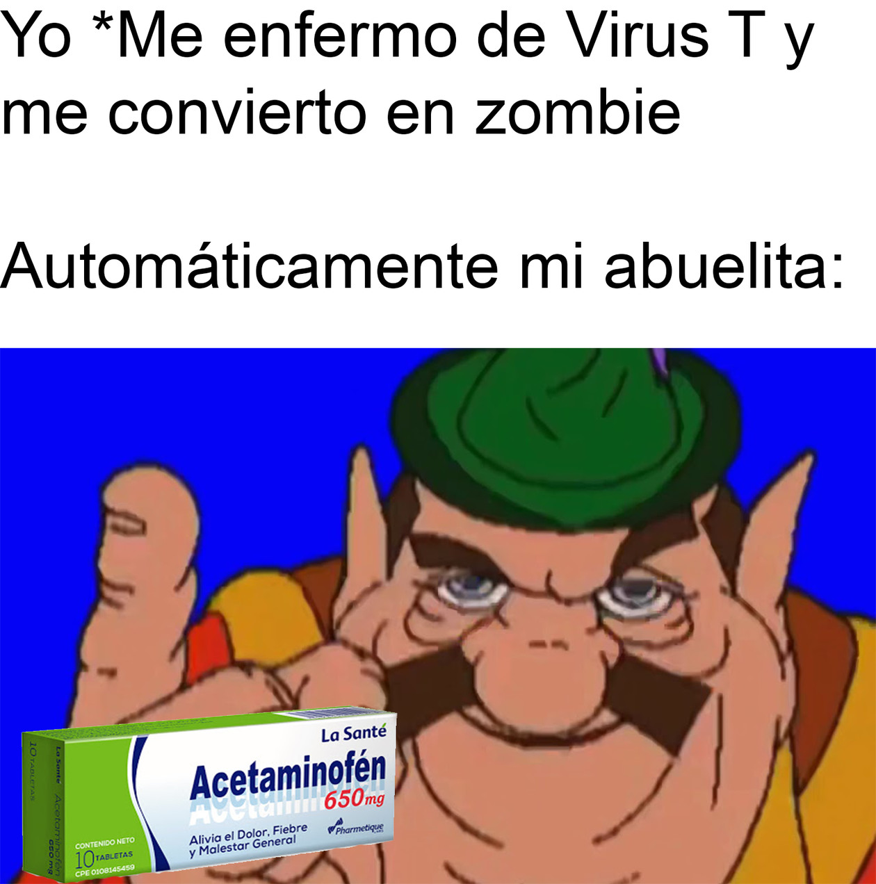 Acetaminofén - meme