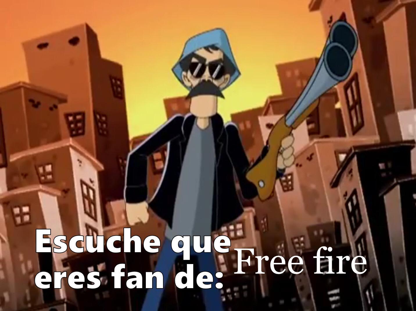Free fire es una copia - meme