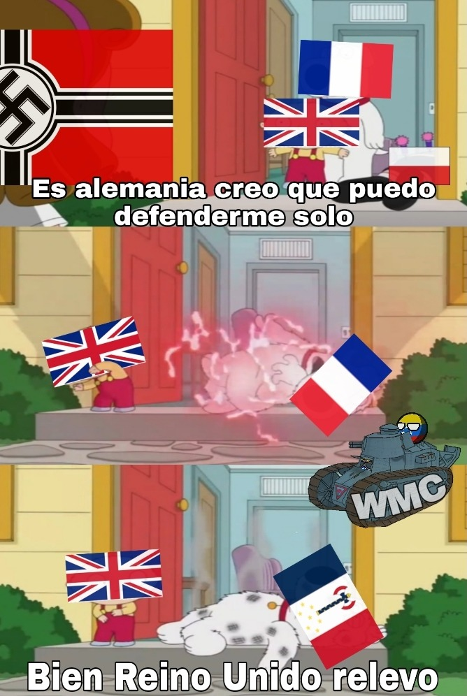 Estúpidos Franceces - meme