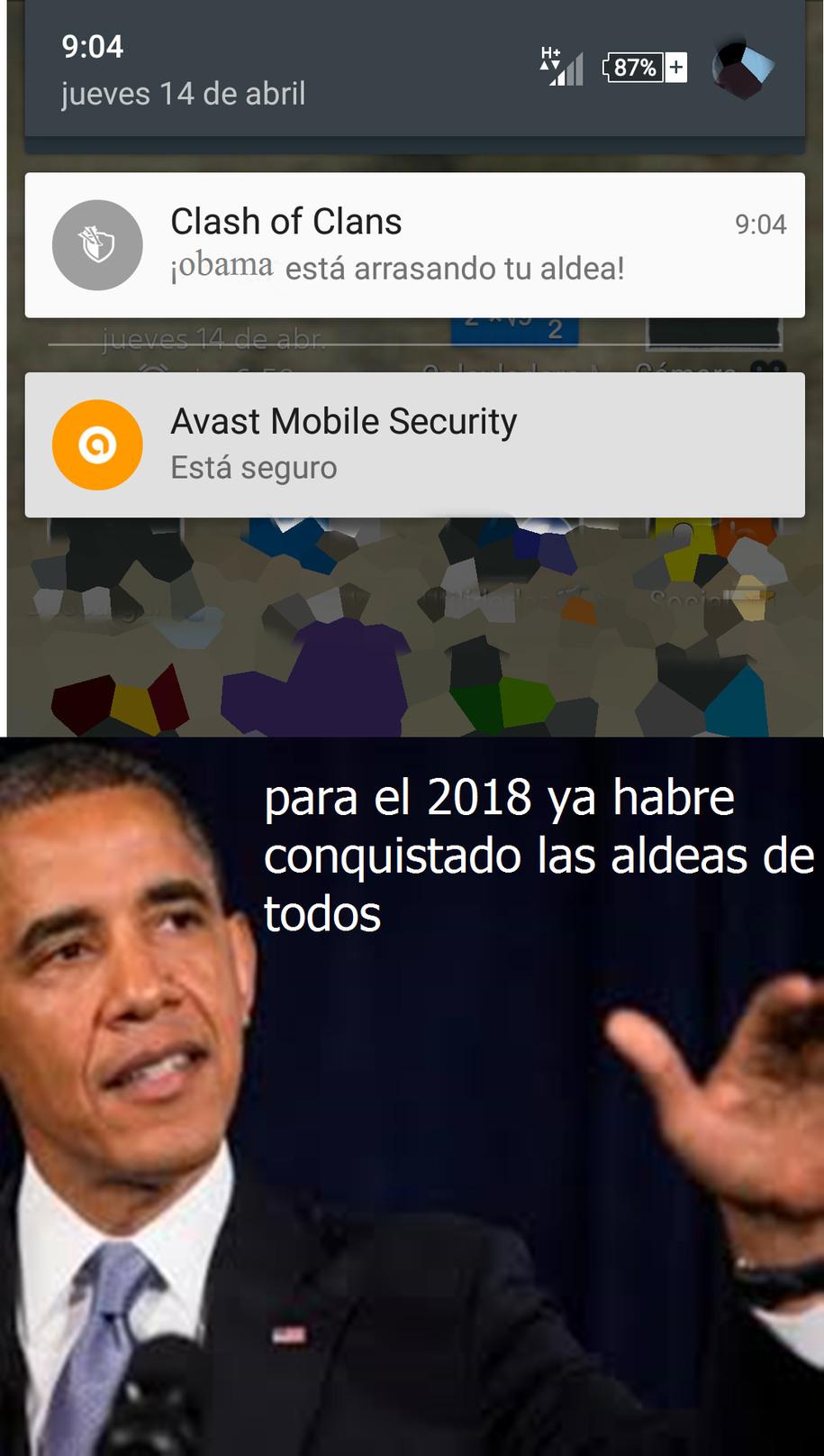 Obama el conquistador - meme