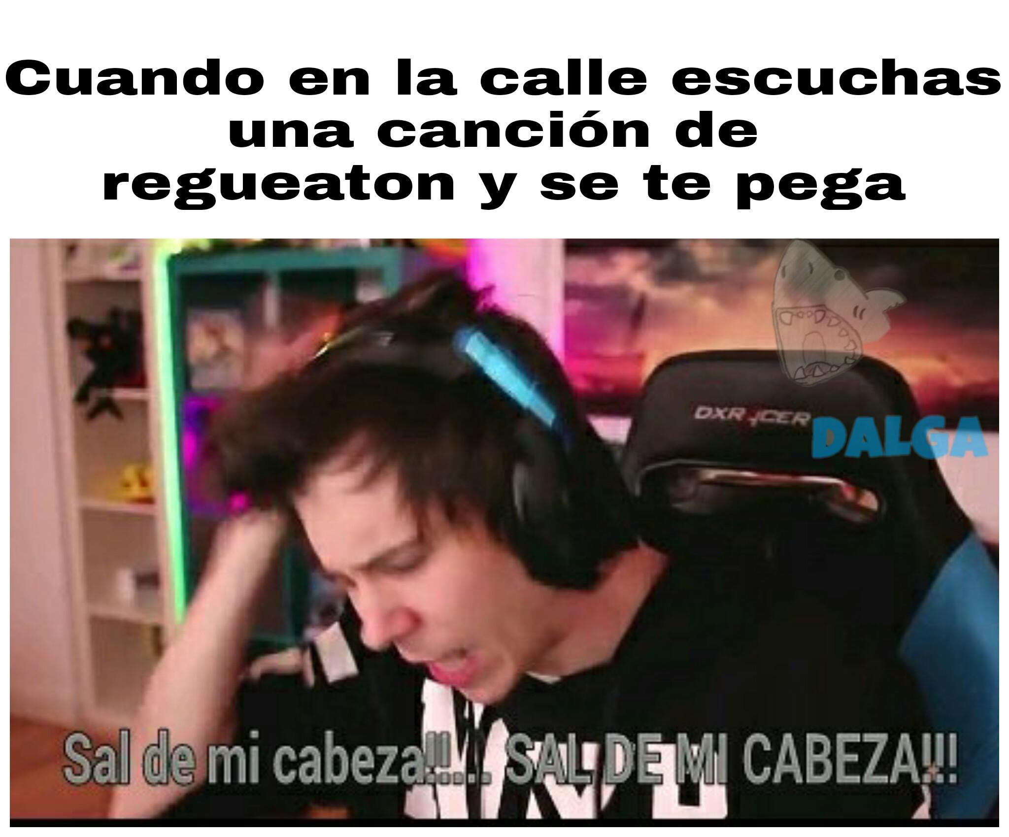 Odio eso >:/ - meme