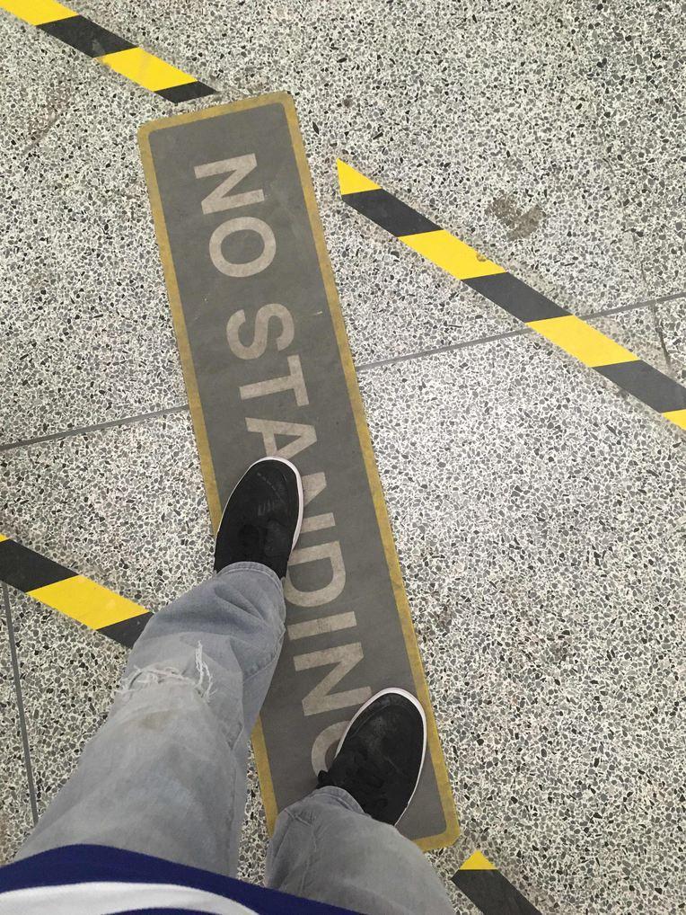"""No Standing"" - meme"