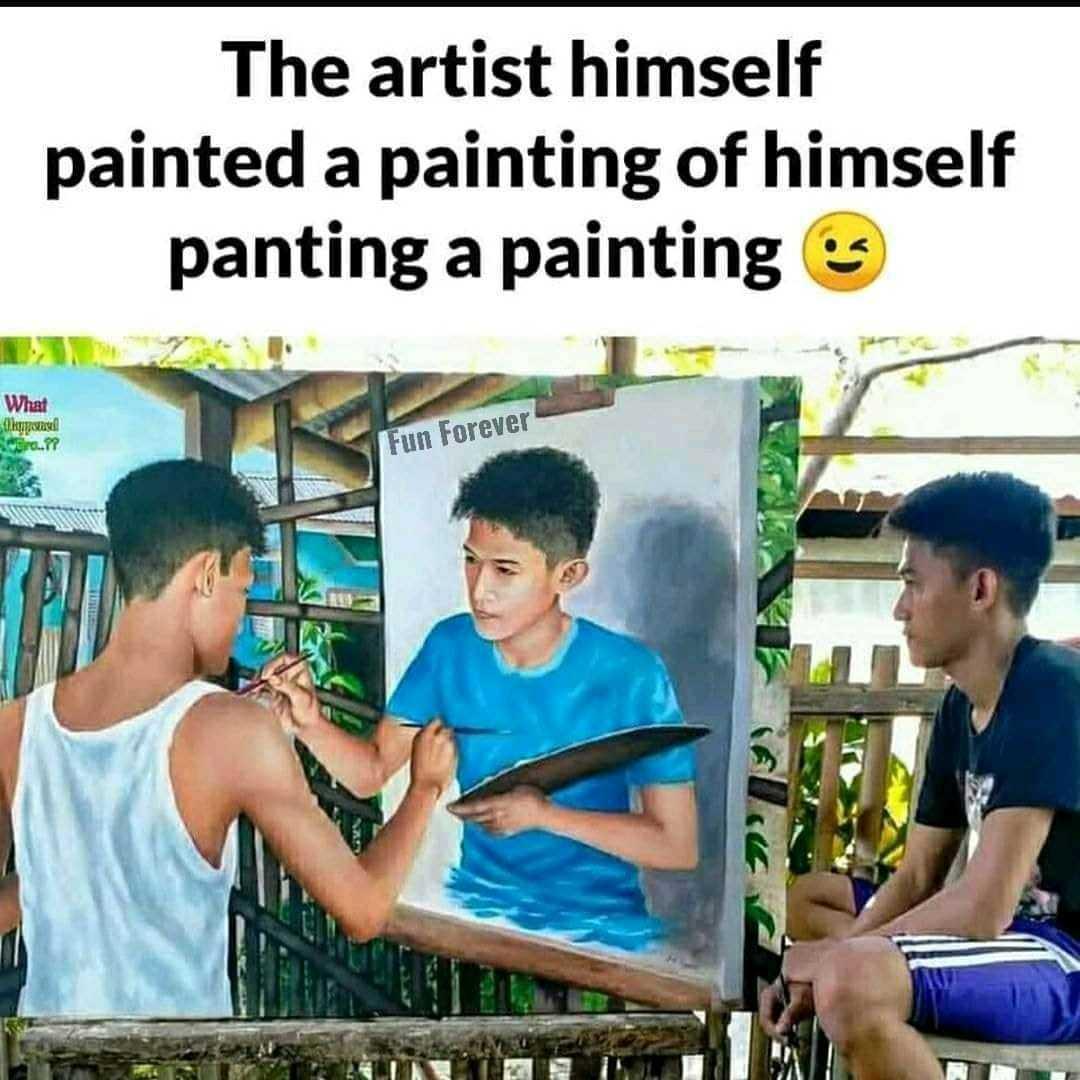The artist - meme