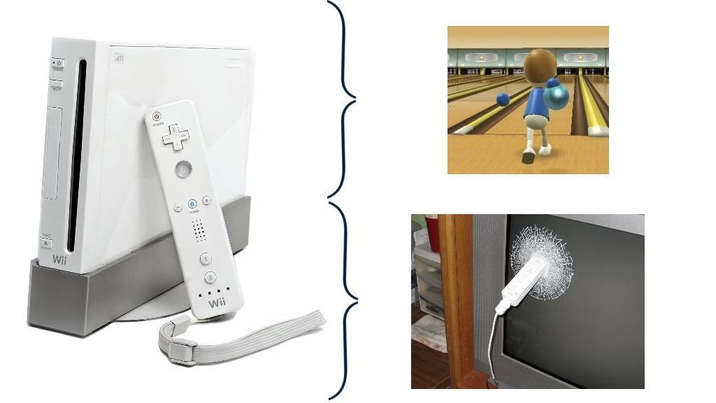 Gracias Nintendo por joderme la tv - meme