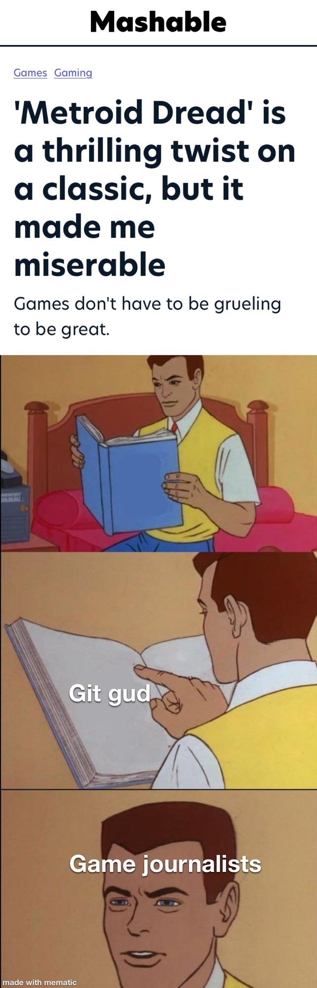 Metroid dread is amazing so far - meme