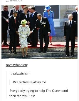 Grouchy Putin having a Moment to Himself - meme