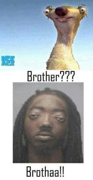 Hostia brotha!!!!!! - meme