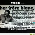 Ne soyez pas raciste
