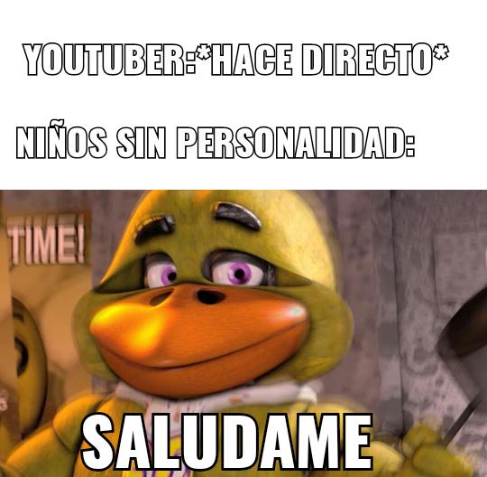 Mikecrack SaLuDaMe p0r Fav0R s0s mi Id0L0 - meme