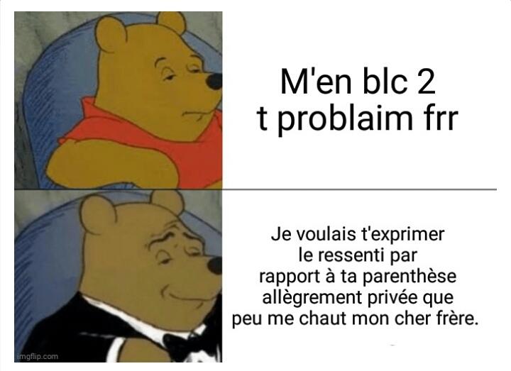 c'EsT uNe rAcAiLLe - meme