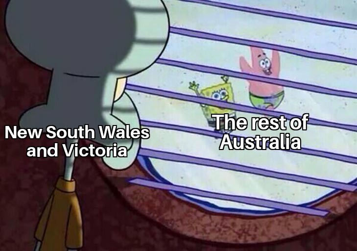 Queensland is the best state. - meme