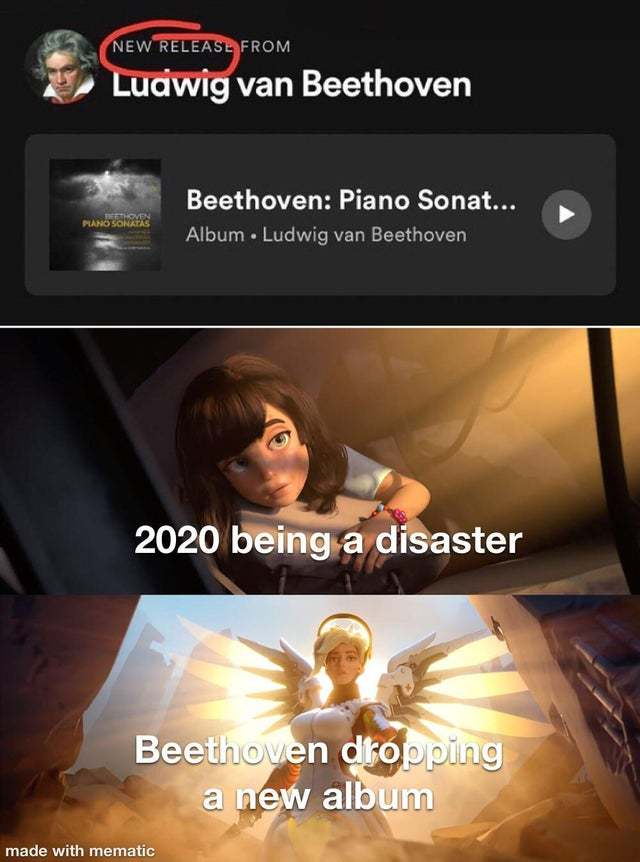 New album by Beethoven! - meme
