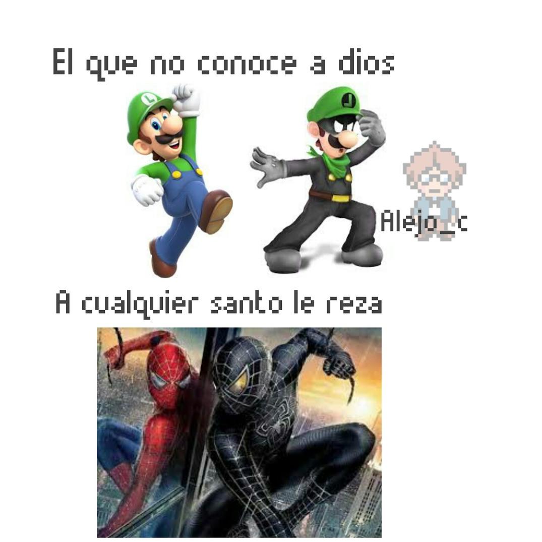 Volvió el Mario papeles \:stonerstanley:/ - meme