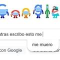 Google se puso medio turbinas ._.XD (Se que es un screenshot con poca gracia)