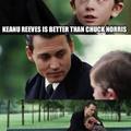 Keanu Reeves is the beat