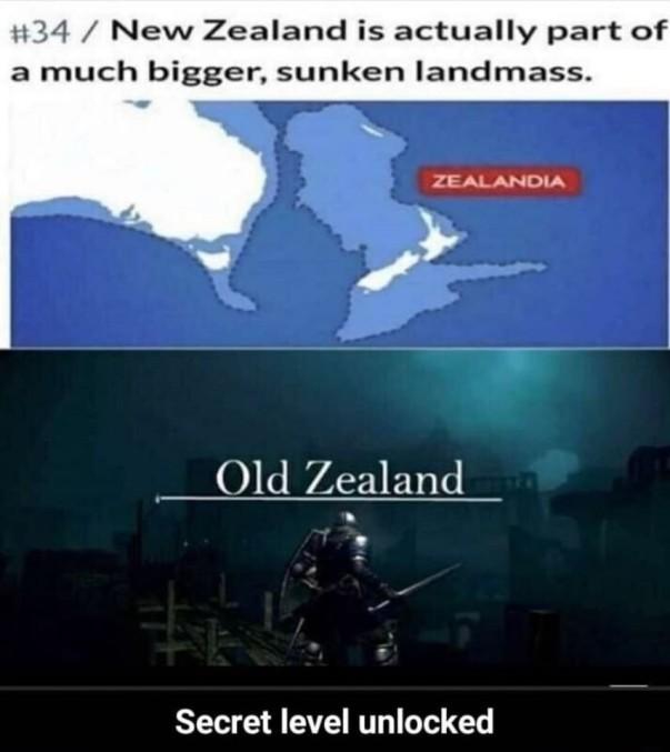 Old Zealand - meme
