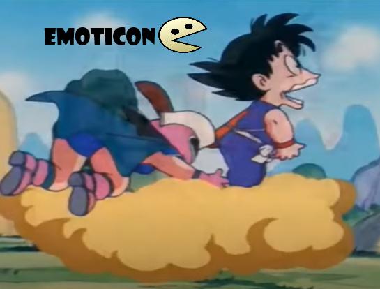 epico momento emoticon :v - meme