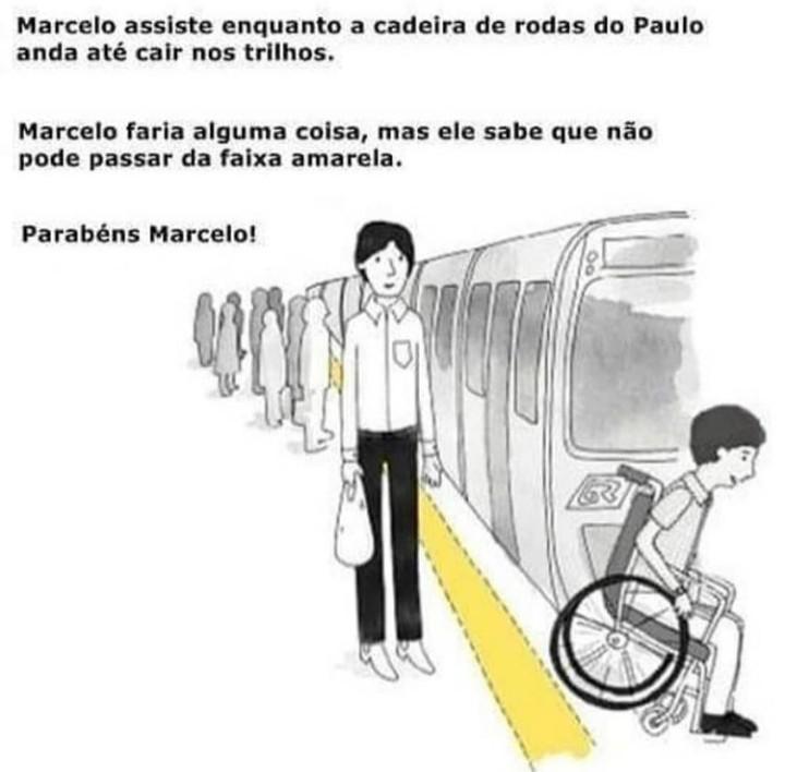 Parabéns Marcelo - meme