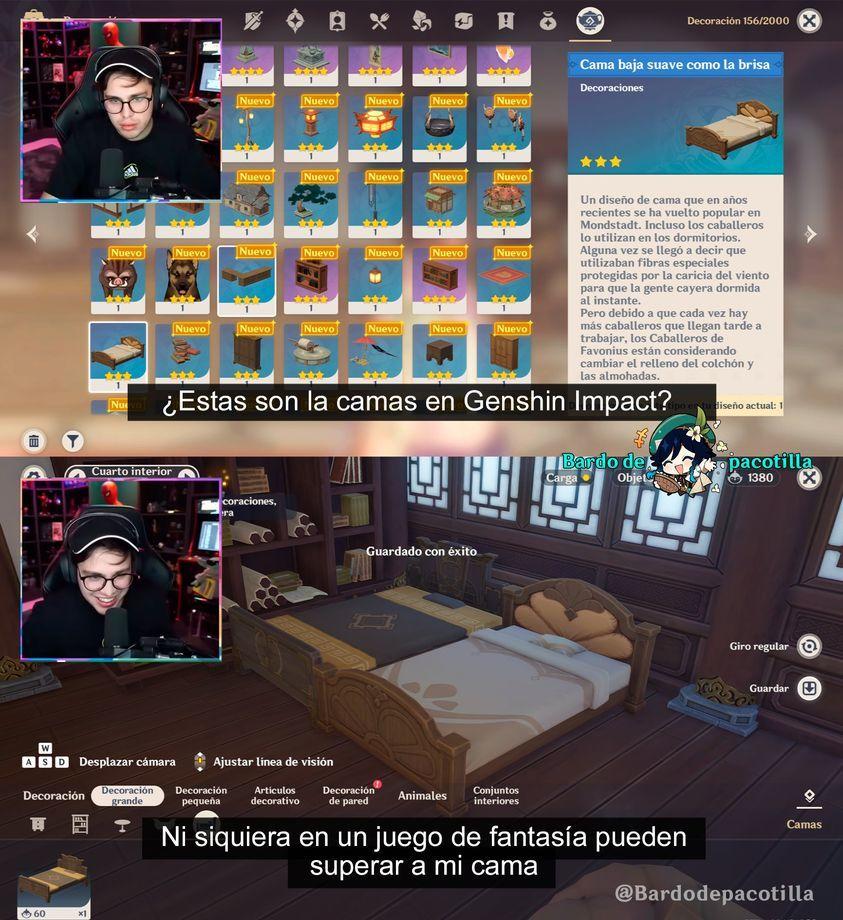 La cama Epilogo - meme