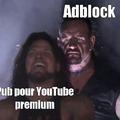 Quand ont se rend compte que adblock fonctionne encore sur YouTube