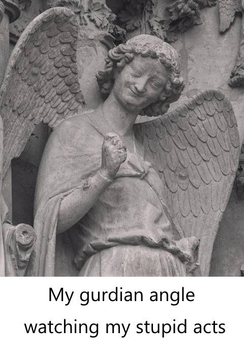 guardian angle, yes! - meme