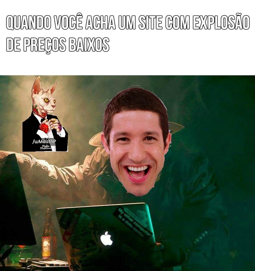 Fabiana augusto das casas bahia - meme
