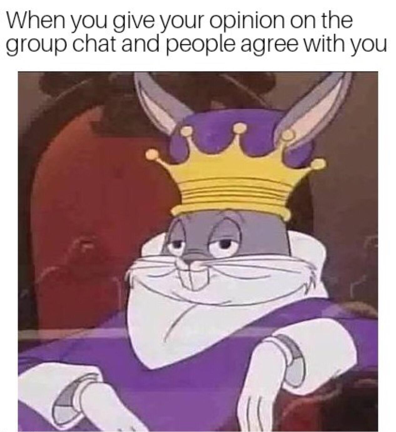 King - meme