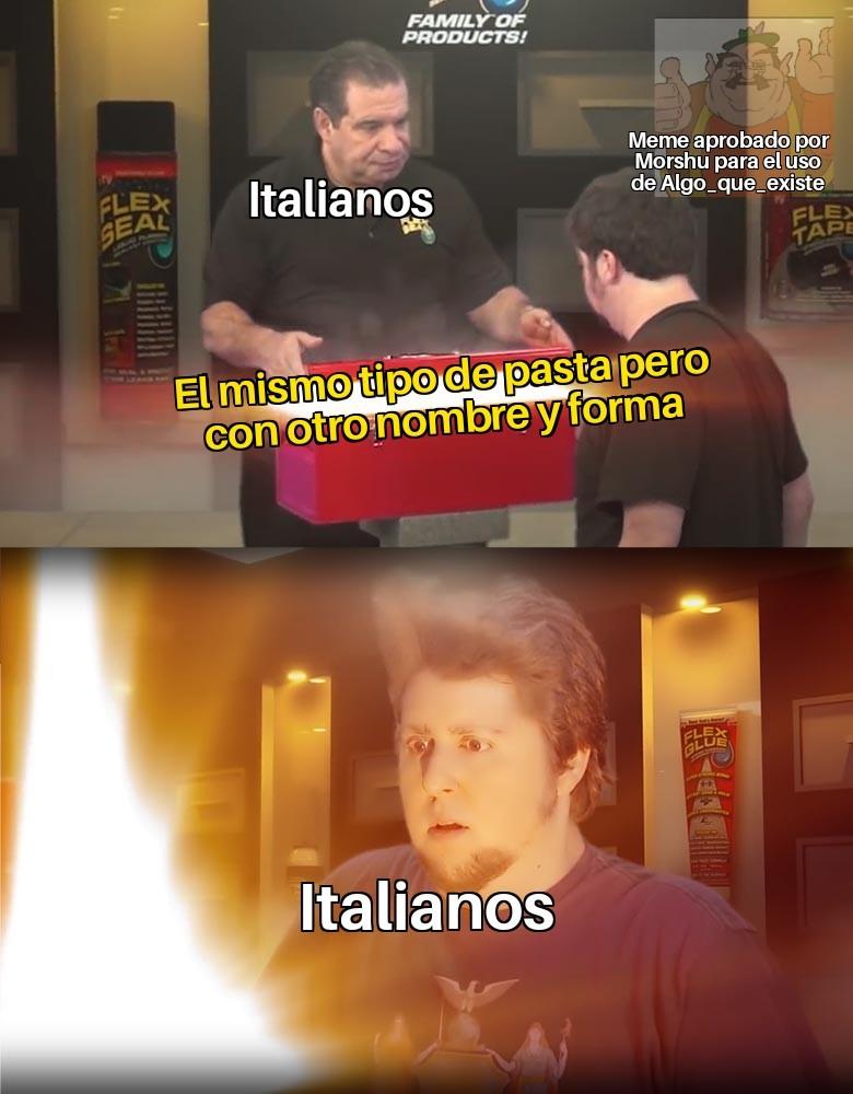 Italia es la vieja Apple - meme