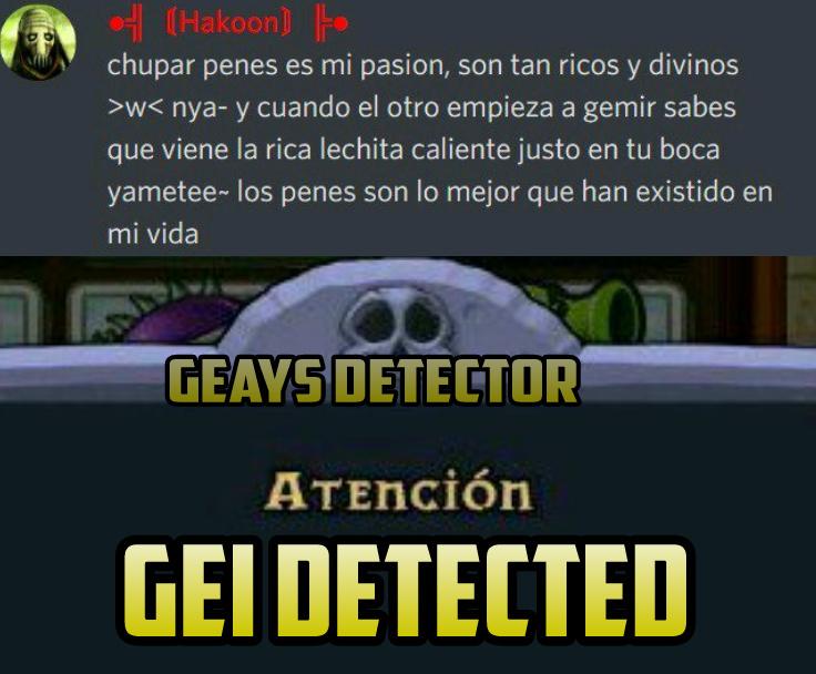 GEI DETECTED:son: - meme