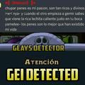 GEI DETECTED:son: