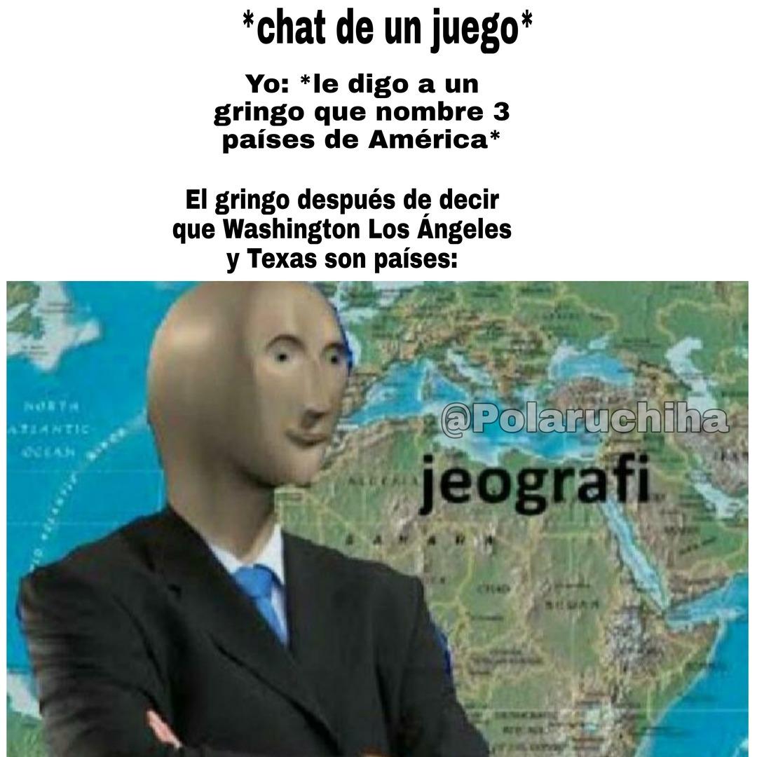 """No vayan a decir en los comentarios """"when gringos bad latinoamerica gud"""" porque en ningún momento dije latinoamerica gud - meme"""