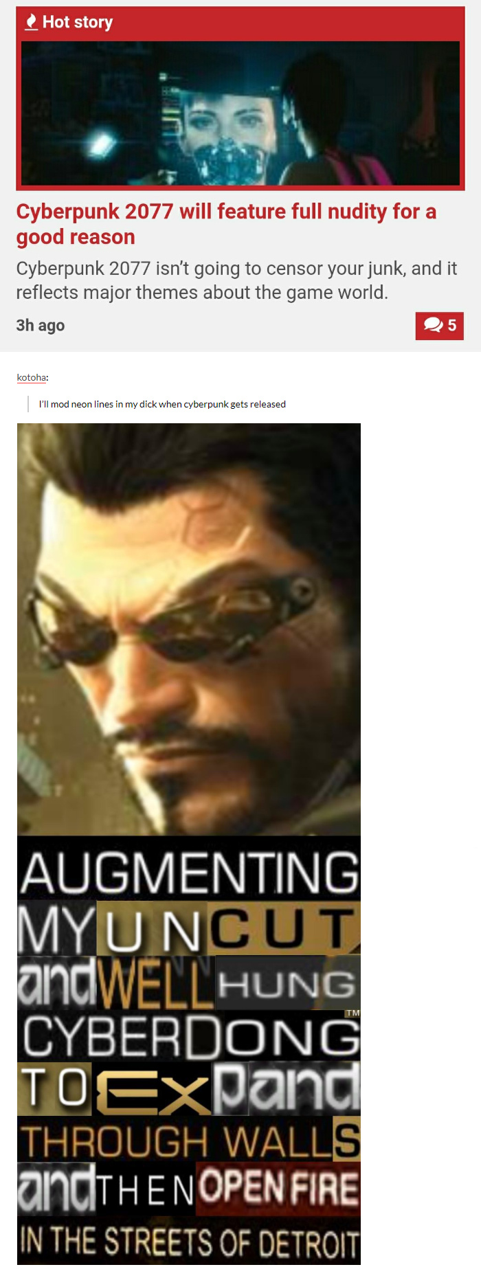 CYBERDONG - meme